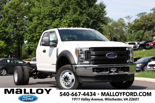 2019 FORD F-550 SUPER CAB CHASSIS TRUCK #643695
