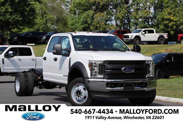 2019 FORD F-550 XL CREW 4WD PICKUP TRUCK #642849