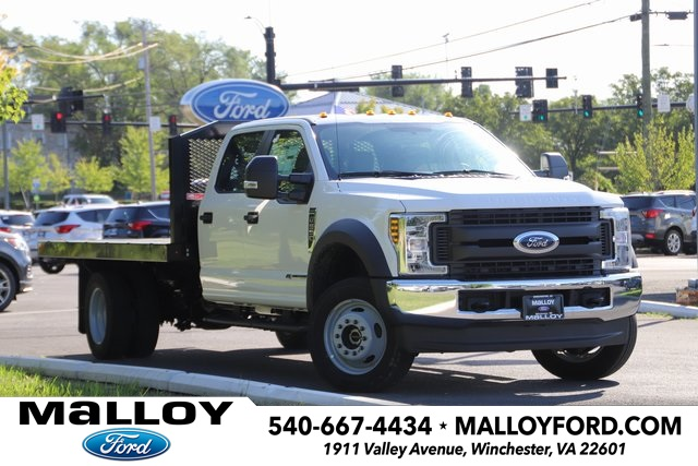 2019 FORD F-550 CREW CAB CHASSIS TRUCK #644615