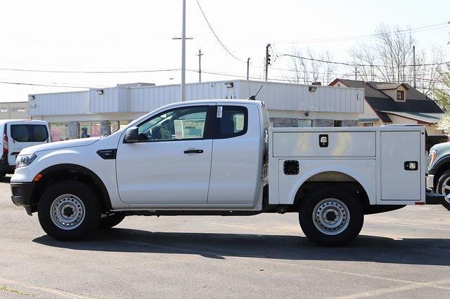 2021 Ford Ranger Super Cab 4x2, Knapheide Service Body #T9169 - photo 3