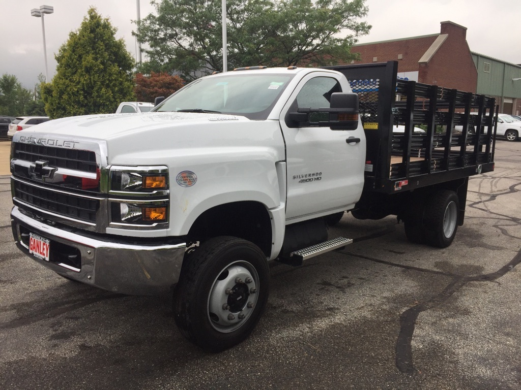 2019 Silverado Medium Duty Regular Cab 4x4,  Stake Bed #59994 - photo 1