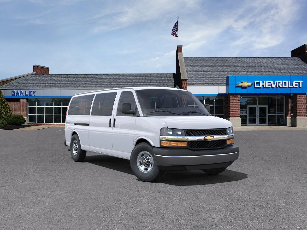 2021 Chevrolet Express 3500 4x2, Passenger Wagon #63085 - photo 1
