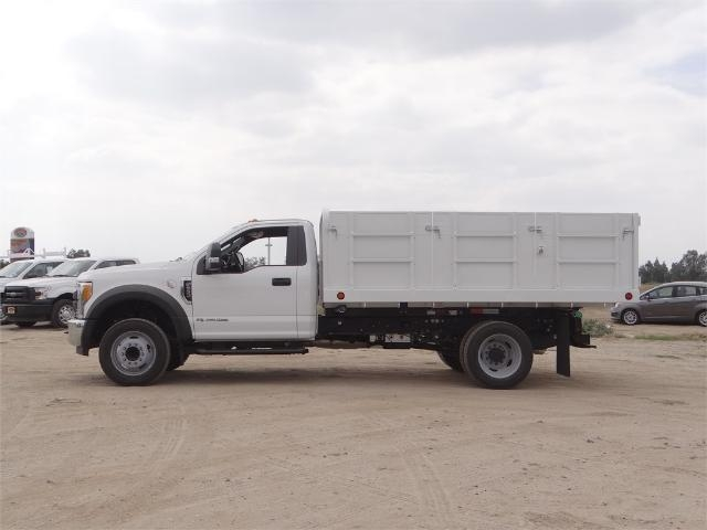 2017 F-550 Regular Cab DRW, Scelzi Landscape Dump #FH5377 - photo 3