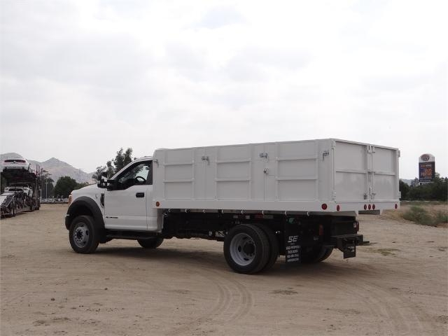 2017 F-550 Regular Cab DRW, Scelzi Landscape Dump #FH5377 - photo 2