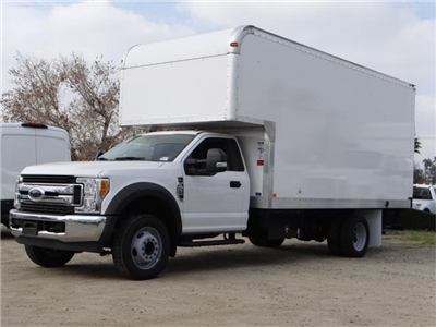 2017 F-550 Regular Cab DRW, Marathon Dry Freight #FH5834 - photo 1