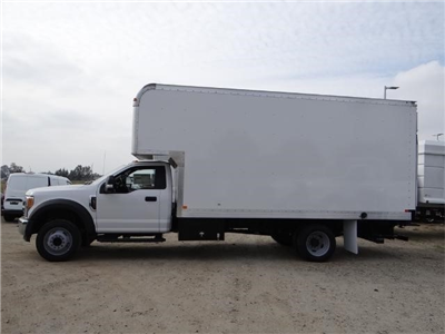 2017 F-550 Regular Cab DRW, Marathon Dry Freight #FH5834 - photo 3