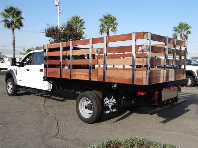 2017 F-550 Crew Cab DRW, Harbor Stake Bed #FH5876 - photo 2