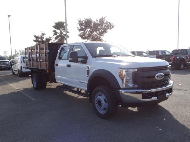 2017 F-550 Crew Cab DRW, Harbor Black Boss Stakebed Stake Bed #FH5876 - photo 6