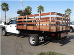 2017 F-550 Crew Cab DRW, Harbor Black Boss Stakebed Stake Bed #FH5876 - photo 2