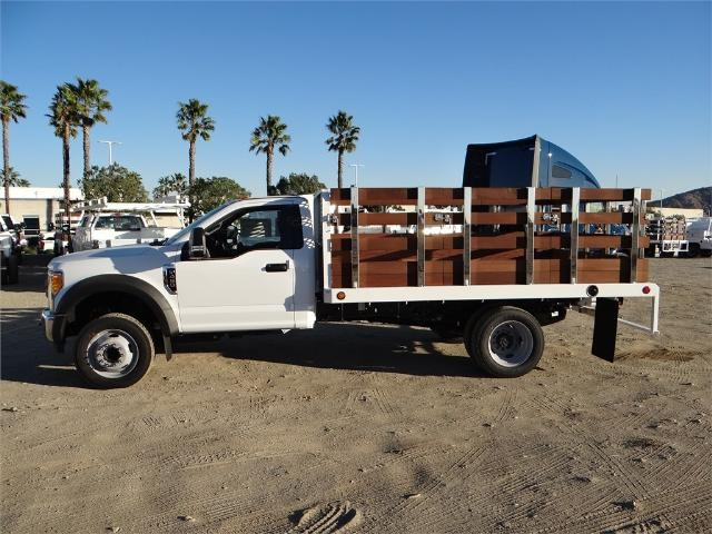 2017 F-450 Regular Cab DRW, Scelzi Stake Bed #FH6267 - photo 3