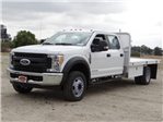 2017 F-550 Crew Cab DRW, Scelzi Stake Bed #FH6290 - photo 1