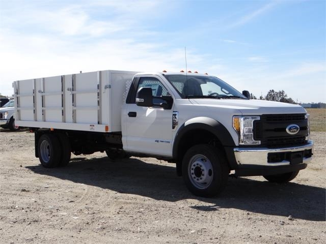 2017 F-550 Regular Cab DRW, Harbor Landscape Dump #FH6300 - photo 6