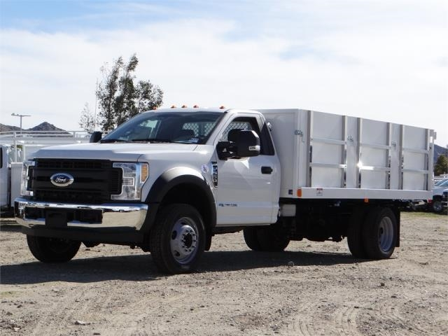 2017 F-550 Regular Cab DRW 4x2,  Harbor Master Landscape Dump #FH6301 - photo 1