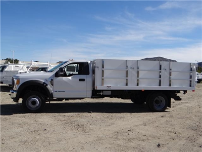 2017 F-550 Regular Cab DRW 4x2,  Harbor Master Landscape Dump #FH6301 - photo 3