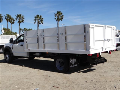 2017 F-550 Regular Cab DRW 4x2,  Harbor Master Landscape Dump #FH6301 - photo 2
