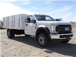 2017 F-550 Regular Cab DRW 4x2,  Harbor Master Landscape Dump #FH6301 - photo 6