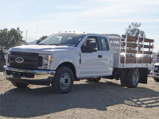 2017 F-350 Super Cab DRW,  Scelzi Western Flatbed Stake Bed #FH6303 - photo 1