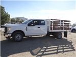 2017 F-350 Super Cab DRW,  Scelzi Western Flatbed Stake Bed #FH6303 - photo 3