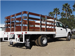2017 F-350 Super Cab DRW,  Scelzi Western Flatbed Stake Bed #FH6303 - photo 4