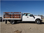 2017 F-350 Super Cab DRW,  Scelzi Western Flatbed Stake Bed #FH6303 - photo 5