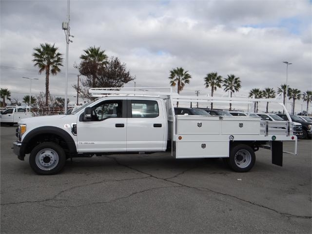 2017 F-450 Crew Cab DRW, Scelzi Contractor Flatbed Contractor Body #FH6304 - photo 3