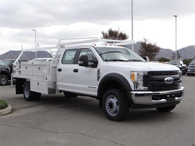 2017 F-450 Crew Cab DRW, Scelzi Contractor Flatbed Contractor Body #FH6304 - photo 6