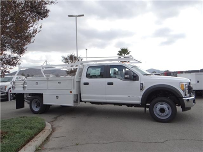 2017 F-450 Crew Cab DRW, Scelzi Contractor Flatbed Contractor Body #FH6304 - photo 5