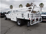 2017 F-450 Crew Cab DRW, Scelzi Contractor Flatbed Contractor Body #FH6304 - photo 2