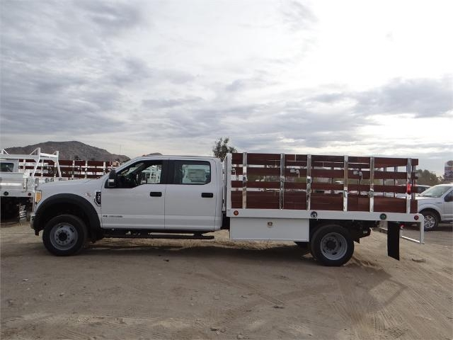 2017 F-450 Crew Cab DRW, Scelzi Western Flatbed Stake Bed #FH6312 - photo 3