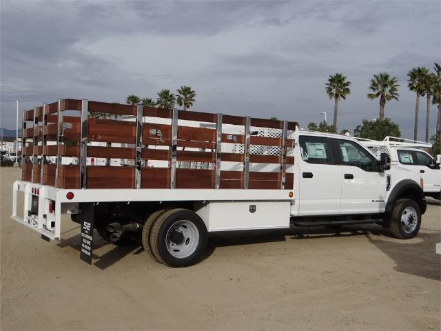 2017 F-450 Crew Cab DRW, Scelzi Western Flatbed Stake Bed #FH6312 - photo 5