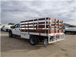 2017 F-450 Crew Cab DRW, Scelzi Western Flatbed Stake Bed #FH6312 - photo 2