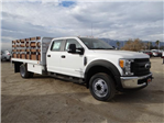 2017 F-450 Crew Cab DRW, Scelzi Western Flatbed Stake Bed #FH6312 - photo 6