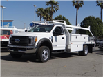 2017 F-550 Regular Cab DRW, Scelzi Contractor Body #FH6341 - photo 1
