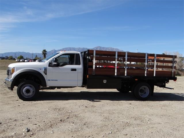 2017 F-550 Regular Cab DRW, Harbor Stake Bed #FH6348 - photo 3