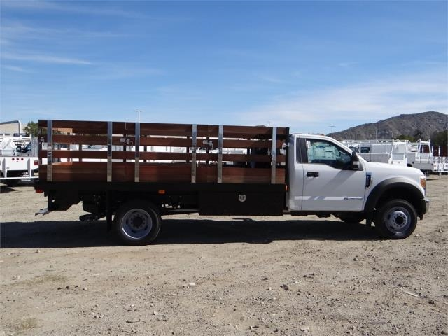 2017 F-550 Regular Cab DRW, Harbor Stake Bed #FH6348 - photo 5