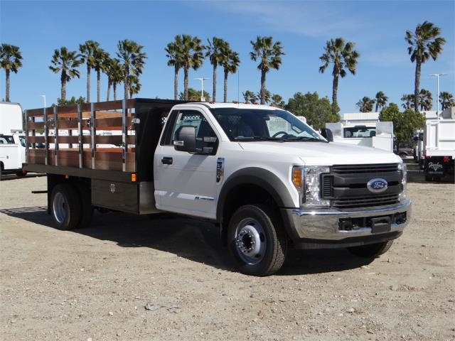 2017 F-550 Regular Cab DRW, Harbor Stake Bed #FH6348 - photo 6