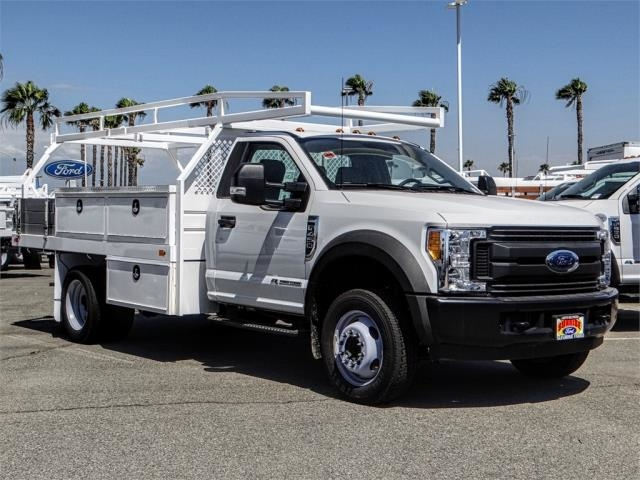 2017 F-450 Regular Cab DRW 4x2,  Marathon Contractor Body #FH6470DT - photo 6