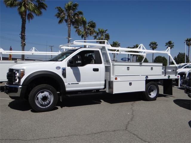 2018 F-550 Regular Cab DRW 4x2,  Scelzi Contractor Body #FJ1806 - photo 3