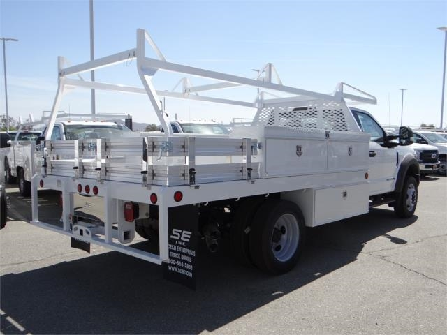 2018 F-550 Regular Cab DRW 4x2,  Scelzi Contractor Body #FJ1806 - photo 4