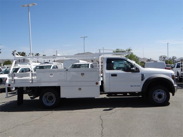 2018 F-550 Regular Cab DRW 4x2,  Scelzi Contractor Body #FJ1806 - photo 5
