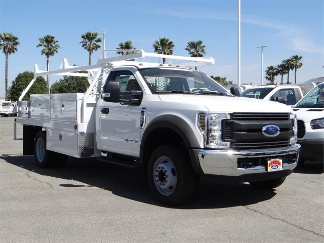 2018 F-550 Regular Cab DRW 4x2,  Scelzi Contractor Body #FJ1806 - photo 6