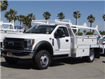 2018 F-550 Regular Cab DRW, Scelzi Contractor Body #FJ1806 - photo 1