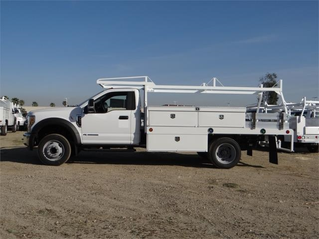 2018 F-550 Regular Cab DRW 4x2,  Scelzi Contractor Body #FJ1954 - photo 3