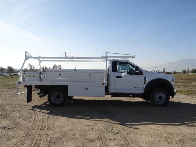 2018 F-550 Regular Cab DRW 4x2,  Scelzi Contractor Body #FJ1954 - photo 5