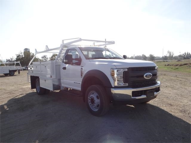2018 F-550 Regular Cab DRW 4x2,  Scelzi Contractor Body #FJ1954 - photo 6