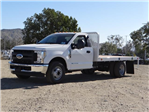 2018 F-350 Regular Cab DRW 4x2,  Scelzi Flatbed #FJ1988 - photo 1