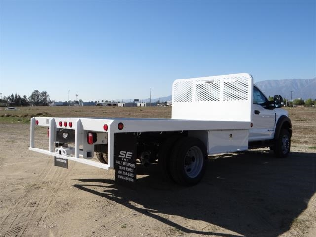 2018 F-550 Regular Cab DRW 4x2,  Scelzi Flatbed #FJ1989 - photo 4