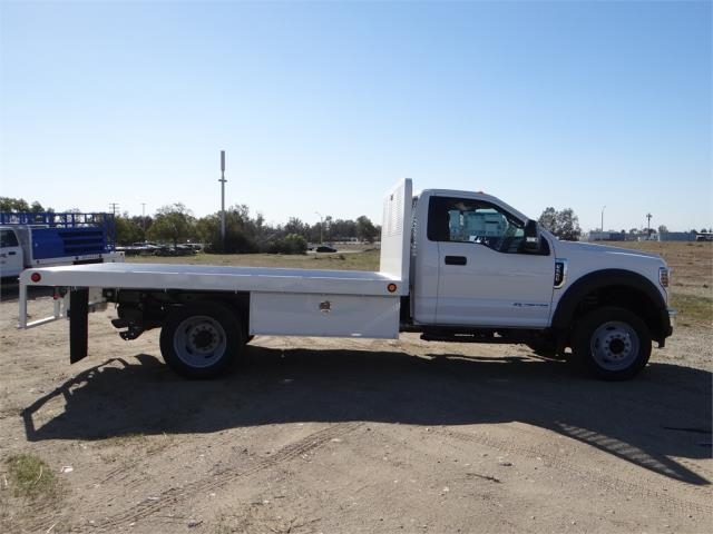 2018 F-550 Regular Cab DRW 4x2,  Scelzi Flatbed #FJ1989 - photo 5