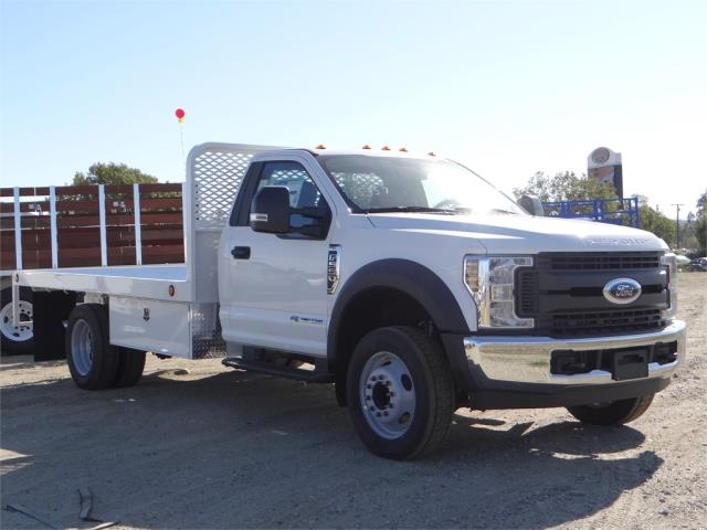 2018 F-550 Regular Cab DRW 4x2,  Scelzi Flatbed #FJ1989 - photo 6