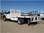 2018 F-550 Regular Cab DRW 4x2,  Scelzi Flatbed #FJ1989 - photo 1